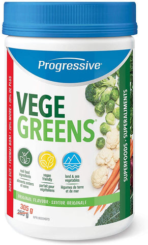 Progressive Vegegreens Natural Flavor 225G