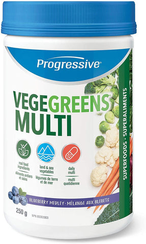 Progressive Vegegreens Blueberry Flavor 265G
