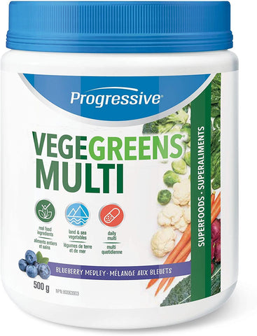 Progressive Vegegreens Blueberry Flavor 530G
