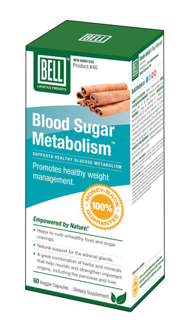 Bell Blood Sugar Metabolism 60 Veggie Capsules