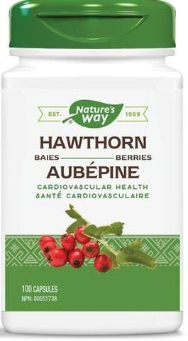 Nature's Way Hawthorn Berry 100 Capsules