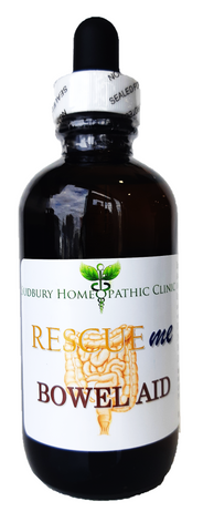 Sudbury Homeopathic Clinic Rescue Me Bowel Aid 120ML