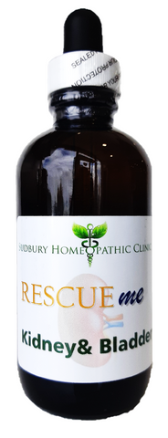Sudbury Homeopathic Clinic Rescue Me Kidney & Bladder 120ML