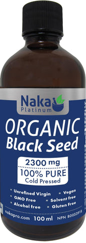 Naka Organic Black Seed Oil 100ML