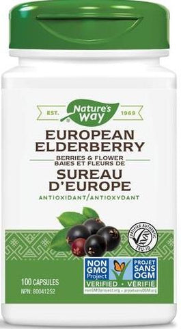 Nature's Way Elderberry 100 Capsules