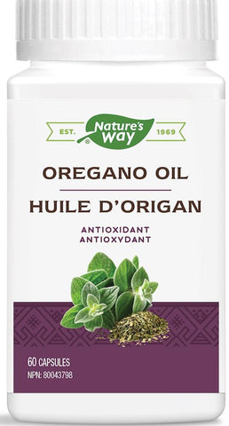 Nature's Way Oregano Oil 60 Capsules