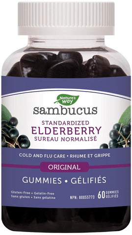 Nature's Way Sambucus 60 Gummies