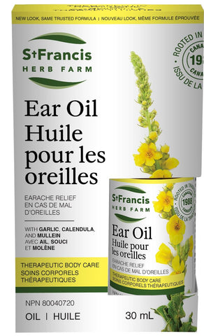 St. Francis Ear Oil 30ML