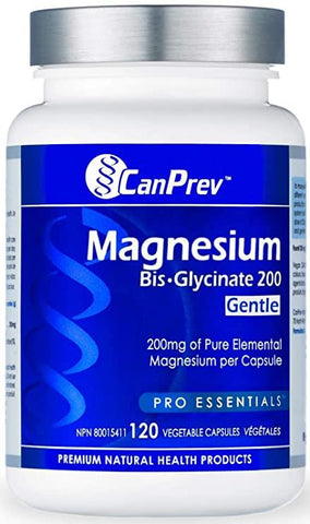 Can Prev Magnesium Bisglycinate 200mg 120Caps