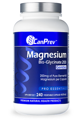 Can Prev Magnesium Bisglycinate 200mg 240Caps