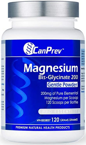 Can Prev Magnesium Bisglycinate 120G