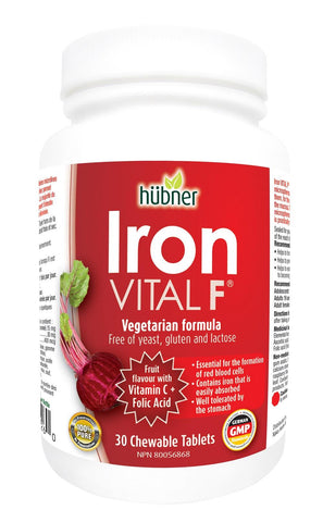 Hubner Iron Vital F 30 Chewable Tablet