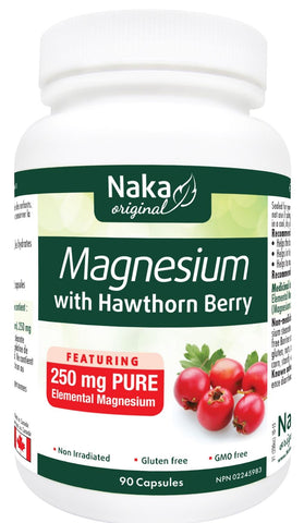 Naka Magnesium With Hawthorn 90 VCap