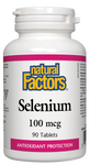 Natural Factors Selenium 100MCG 90 Tablet