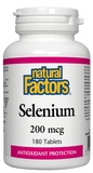 Natural Factors Selenium 200MCG 180 Tablet