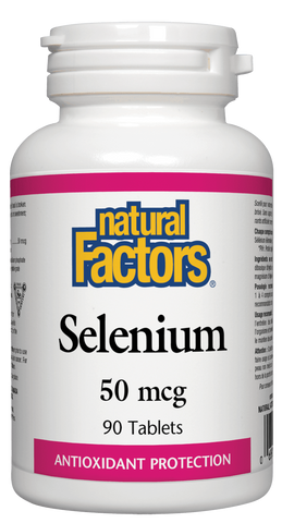 Natural Factors Selenium 50MCG 90 Tablet