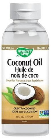 Nature's Way Coconut Oil 93% MCT 600ML