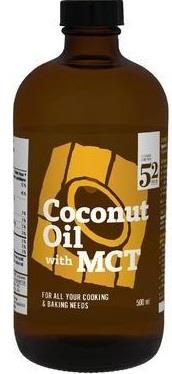 St. Francis Coconut & MCT Oil 500ML