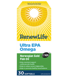 Renew Life Ultra EPA 1000mg 30 Softgel