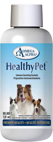 Omega Alpha Healthy Pet 120ML