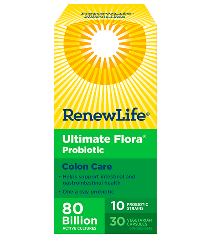 Renew Life Ultimate Flora Colon Care 80Billion 30 V-Cap
