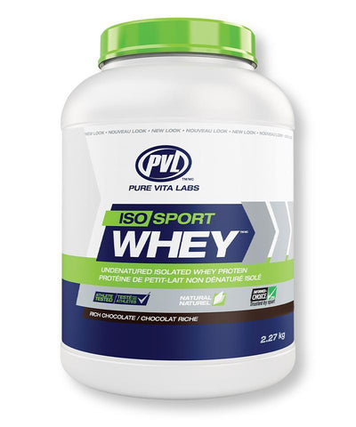 PVL Iso SPort Whey Chocolate 2.27KG