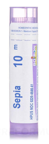 Boiron Sepia Officinalis 10M Tube (80 Pellets)