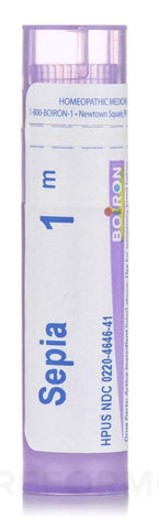 Boiron Sepia officinalis 1M Tube (80 Pellets)
