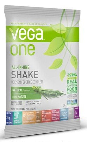 Vega One All-In-One Natural Packet 39G