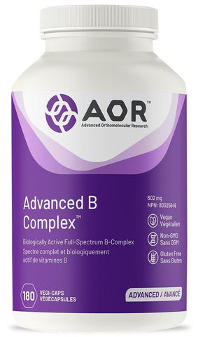 AOR Advanced B Complex 180 V Cap