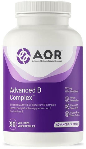 AOR Advanced B Complex 90 V Cap