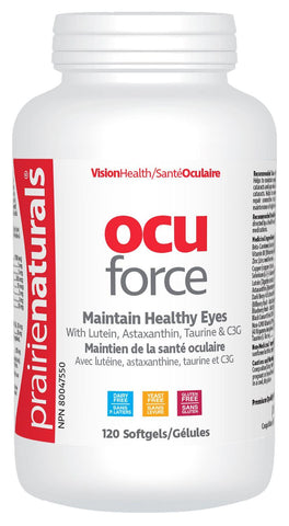 Prairie Naturals Ocu-Force 120 Softgels