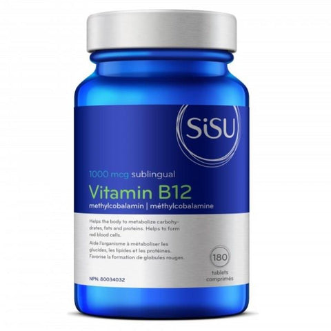 SISU Vitamin B12 1,000mcg 180 Tablets