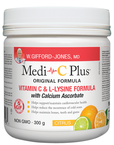 W.Gifford Jones Medi-C Plus Citrus 300G