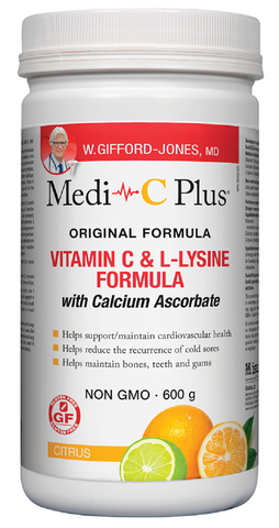 W. Gifford Jones Medi-C Plus Citrus 600G