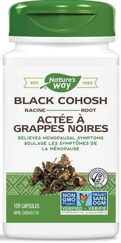 Nature's Way Black Cohosh 100 Capsules