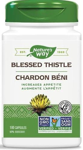 Nature's Way Blessed Thistle 100 Capsules
