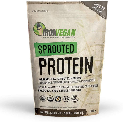 Iron Vegan Sprouted Chocolate Protein 1KG