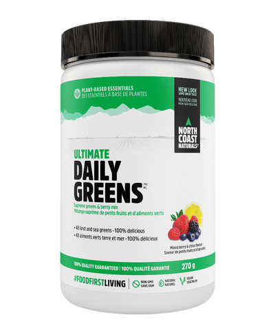 North Coast Naturals Daily Greens Mixed Berry 270G
