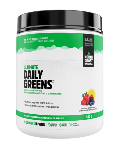 North Coast Naturals Daily Greens Mixed Berry 540G