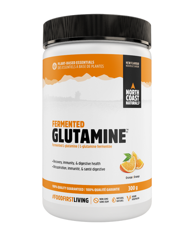 North Coast Naturals Fermented L-Glutamine Orange 300G