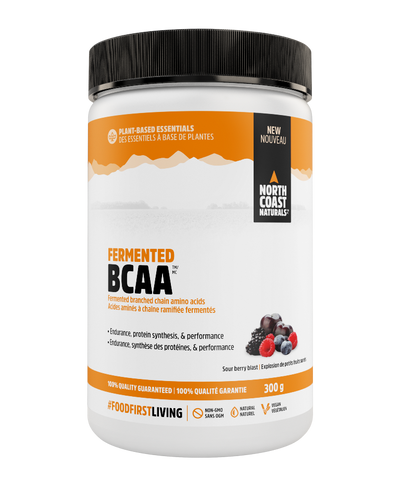 North Coast Naturals Fermented BCAA Sour Berry 300G
