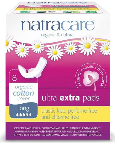 Natracare Ultra Extra Pads 8 Count
