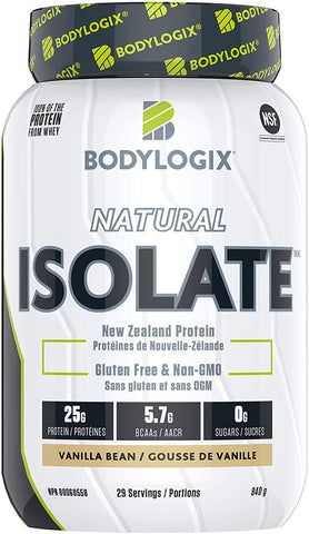 Bodylogix Isolate Whey Vanilla 840G