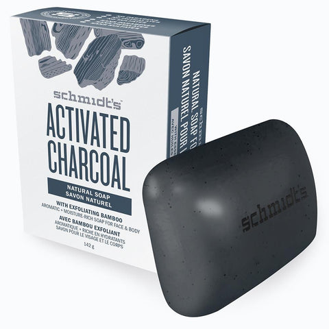 Schmidt Activated Charcoal Soap Bar 142G