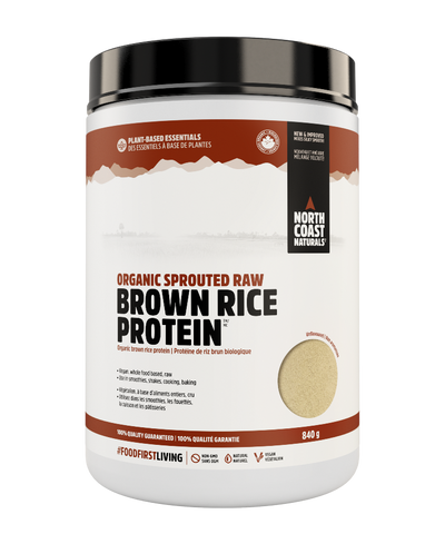 North Coast Naturals Organic Sprouted Brown Rice Protein 840G