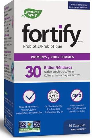 Nature's Way Fortify 30 Billion Womens 30 Capsules