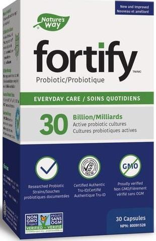 Nature's Way Fortify Everyday 30 Billion 30 Capsules
