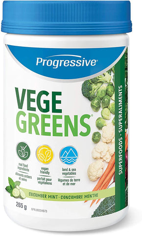 Progressive Vegegreens Cucumber Mint 265G