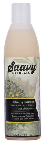 Saavy Naturals Yuzu & Meyer Lemon Shampoo 236ML